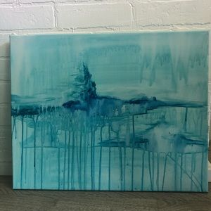 Abstract painting - one of a kind.